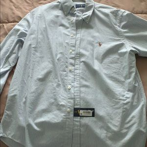 Men's Ralph Lauren button down.